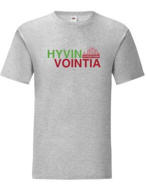 T-paita, aikuisten — Hyvinvointia yhteisvoimin