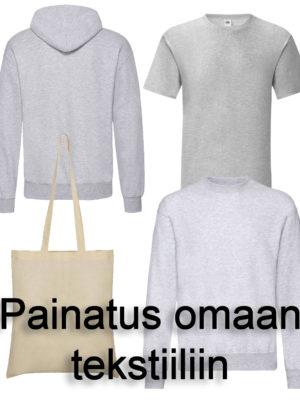 Painatus omaan tekstiiliin — Sambo Hokuto